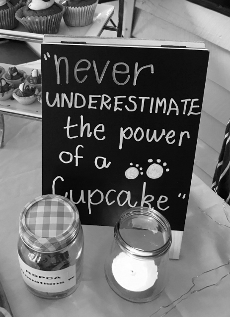 Never underestimate the power of a cupcake